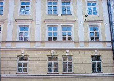 Souveräne Fassadengestaltung eines Jugendstil-Stadthauses
