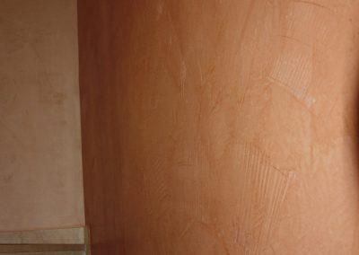 Kalkputz für einen besonderen Treppenaufgang
