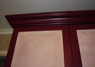 Möbelgestaltung mit Lack und Wandlasuren